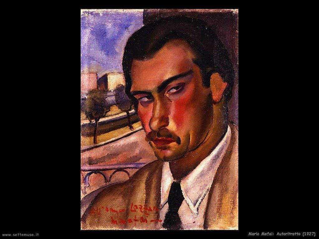 mario mafai Autoritratto (1927)