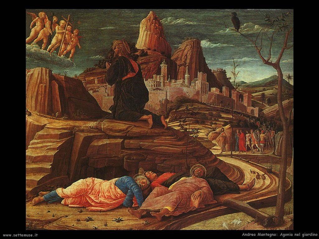 andrea mantegna Agonia nel giardino (1459)