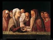 andrea mantegna Presentazione al tempio (1460)