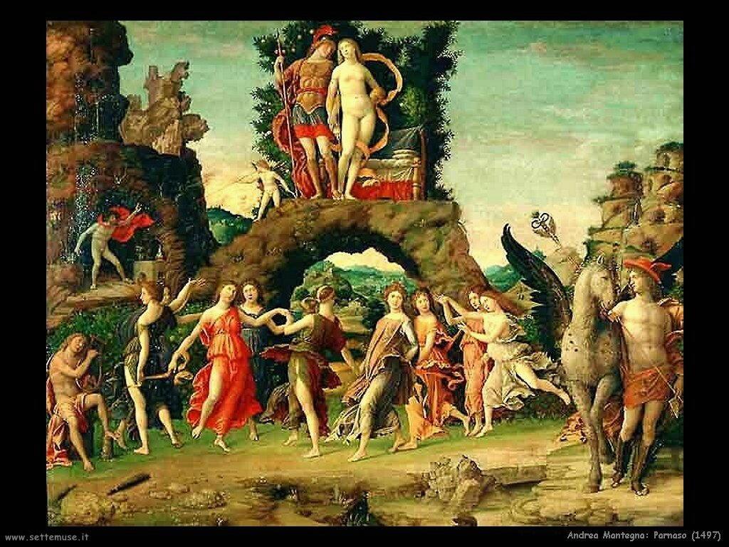 andrea mantegna Parnaso (1497)