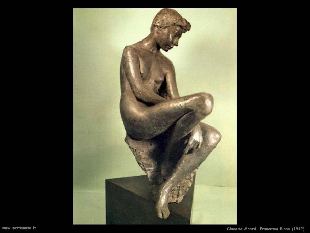 Giacomo Manzù Francesca Blanc (1942)