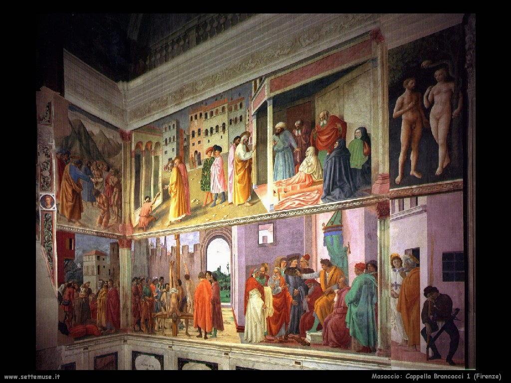 Masaccio Cappella Brancacci (Firenze)