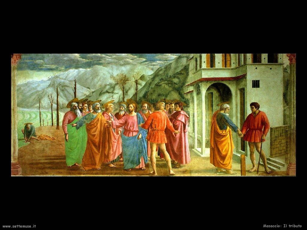 Masaccio Il tributo