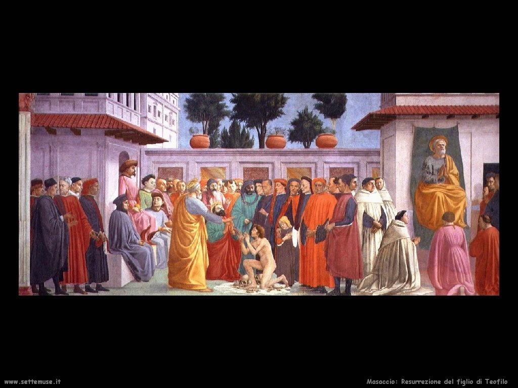 Masaccio Resurrezione figlio di Teofilo