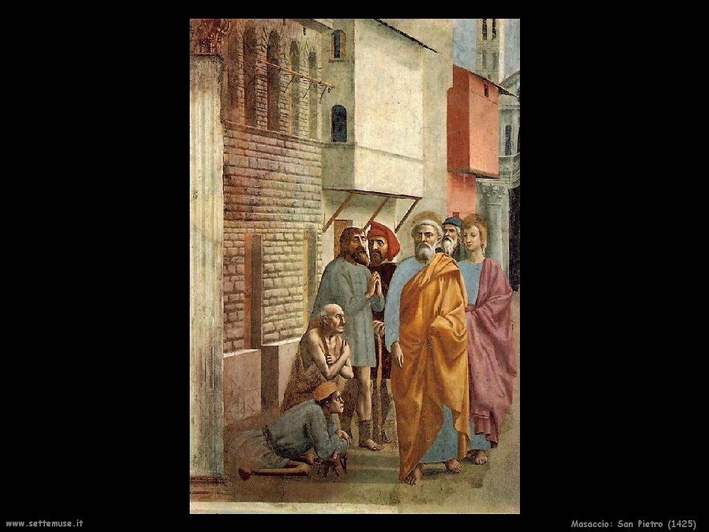 Masaccio San Pietro (1425)