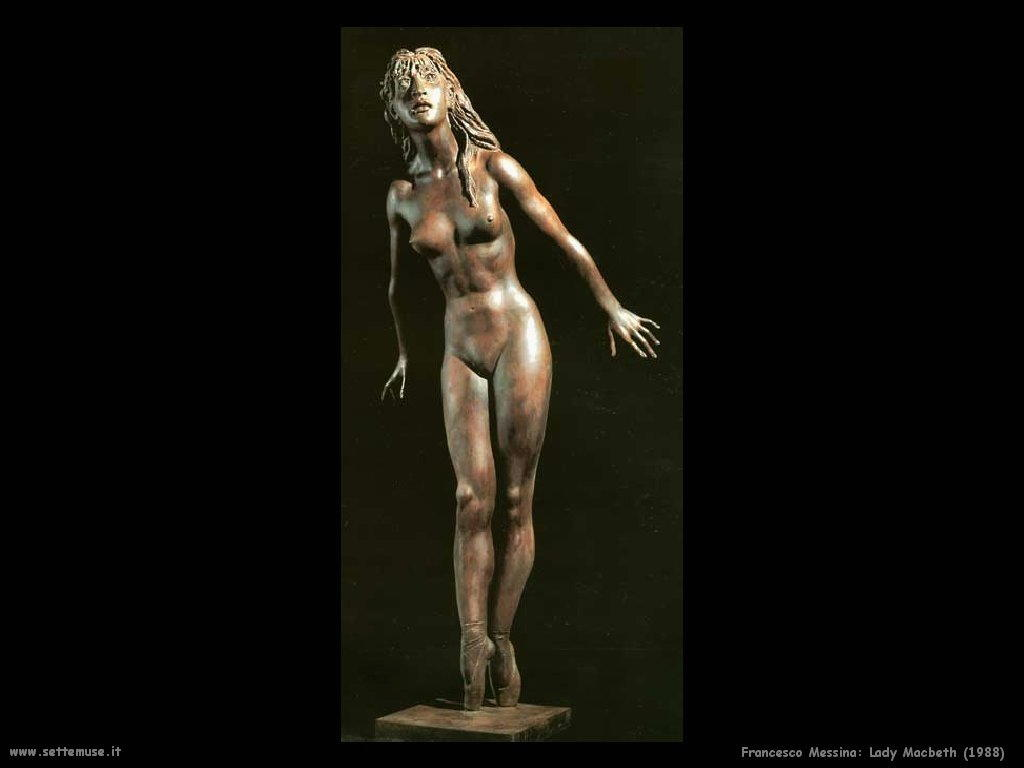 Francesco Messina Lady Macbeth (1988)