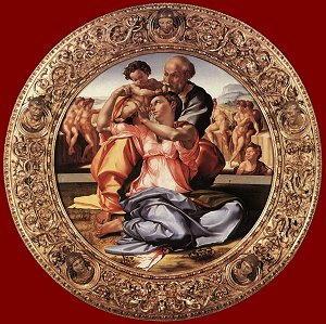 Tondo DONI Opera di Michelangelo Buonarroti