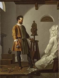 Dipinto di Michelangelo Buonarroti