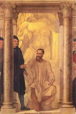Pittura di Michelangelo Buonarroti