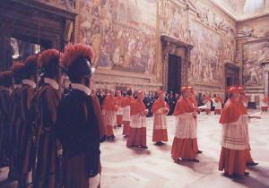 La Cappella Sistina - Musei Vaticani - Roma