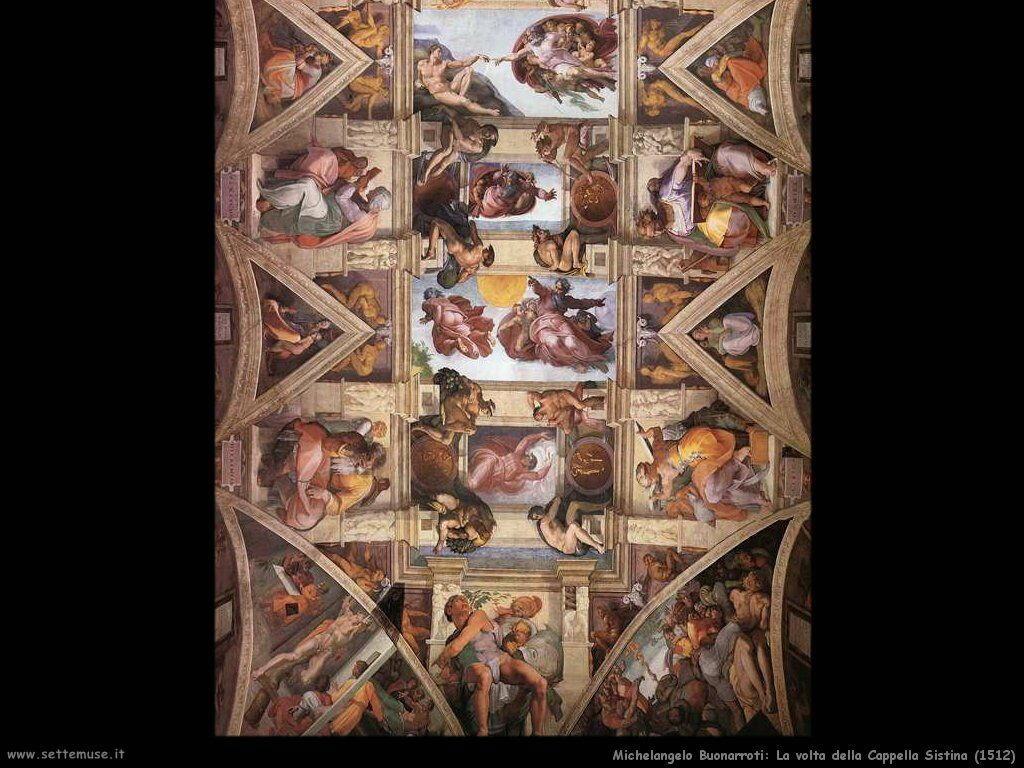 La volta della Cappella Sistina (ingrandimento 2)