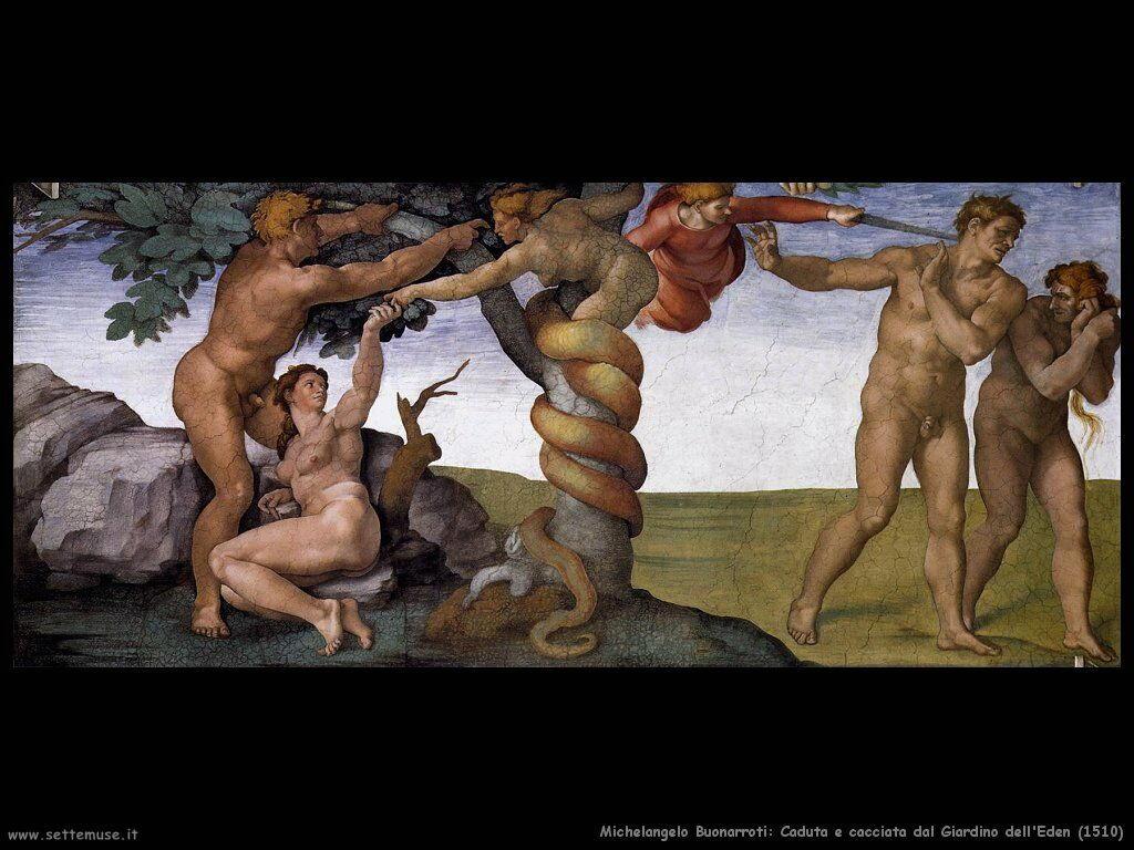 Caduta e cacciata dal giardino dell'Eden (1510)