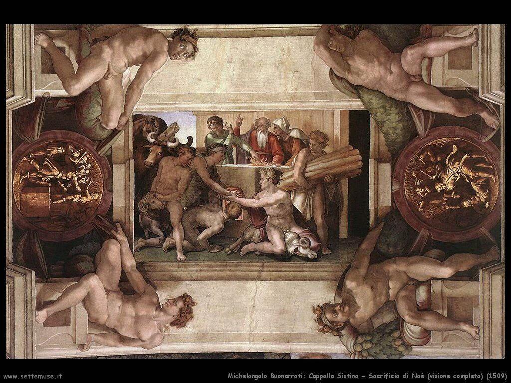 Sacrificio di Noè (1509)