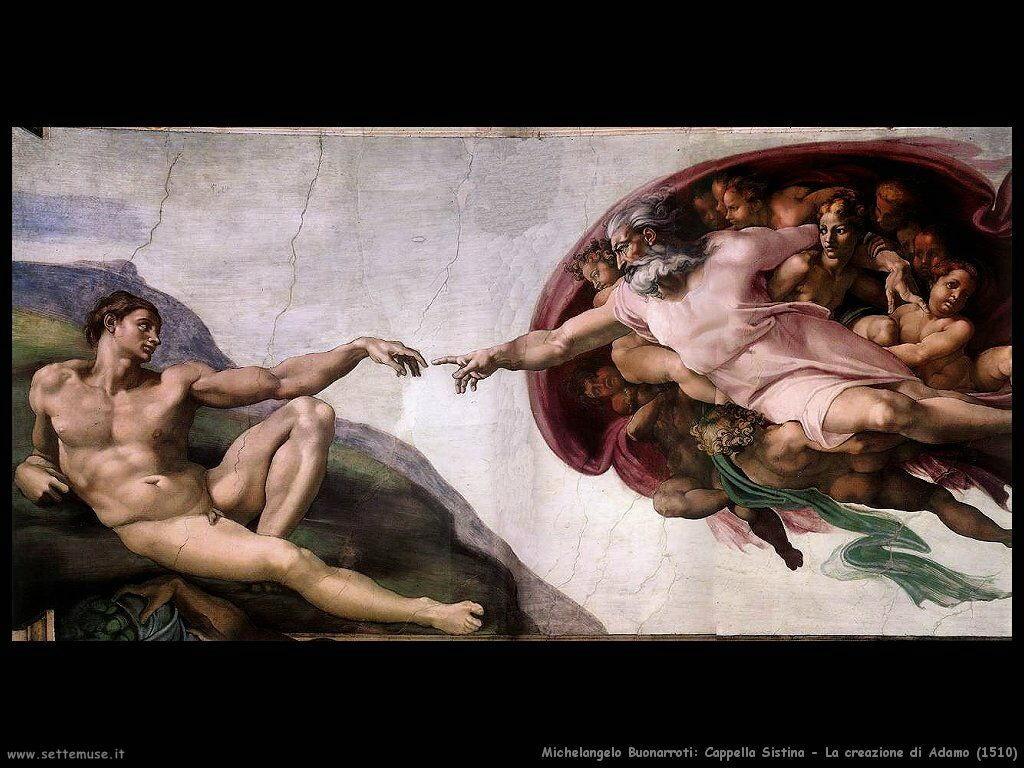 La creazione di Adamo (1510)