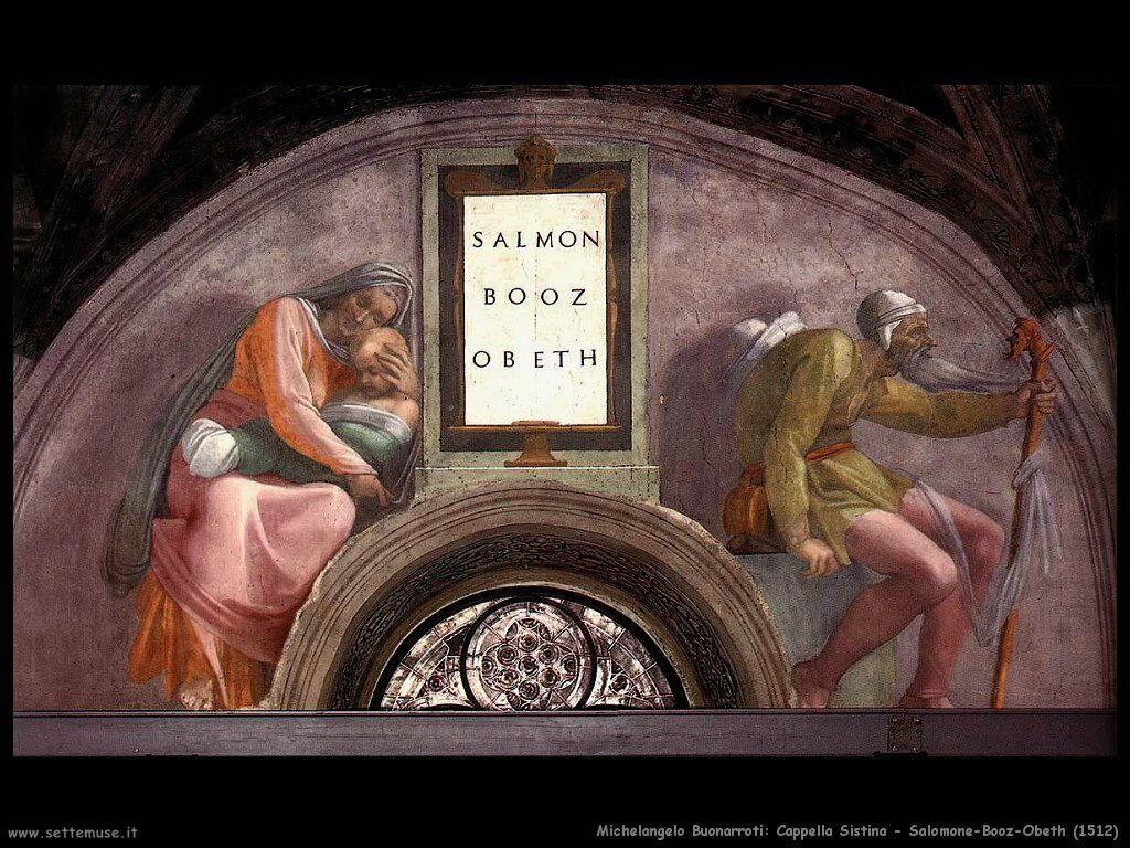 XII) Salmon - Boaz - Obed