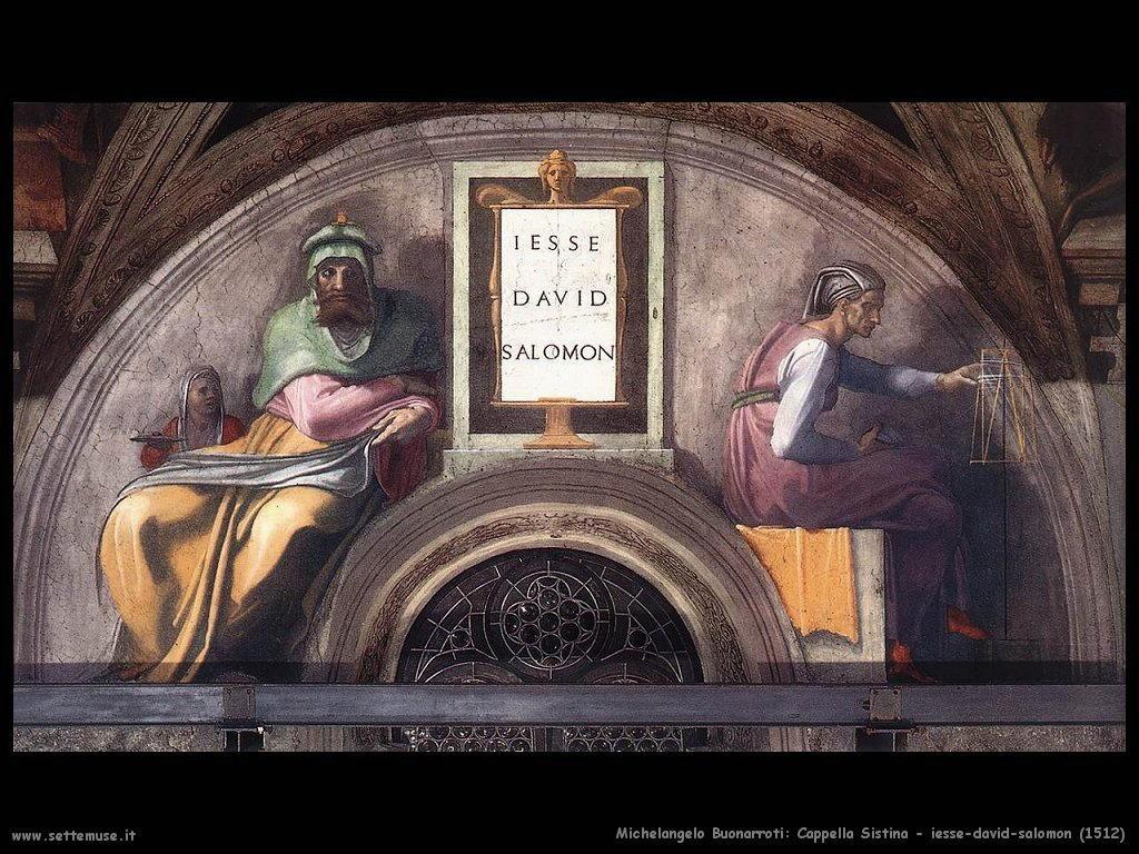 XI) Jesse - David - Solomon