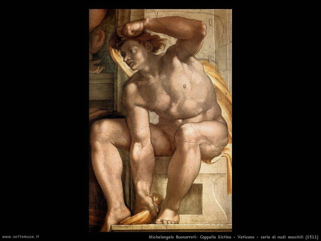 michelangelo 075 ignudi (1510)