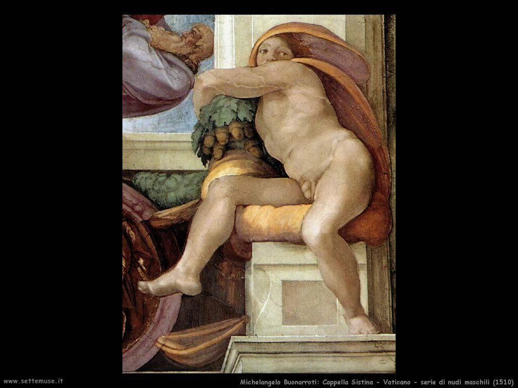 michelangelo 079 ignudi 1510