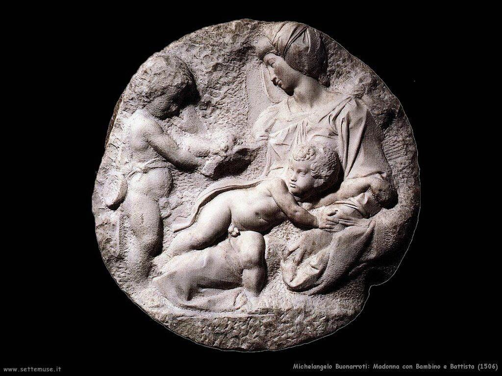 Madonna con Bambino e Battista (1506)