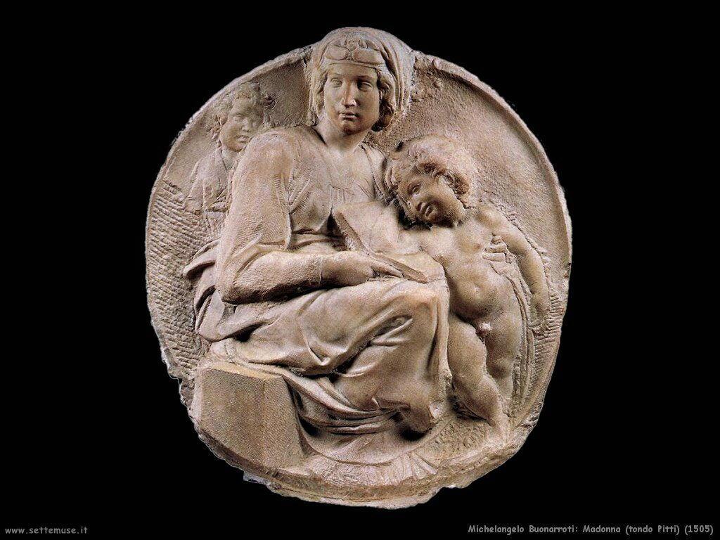 Madonna tondo Pitti (1505)