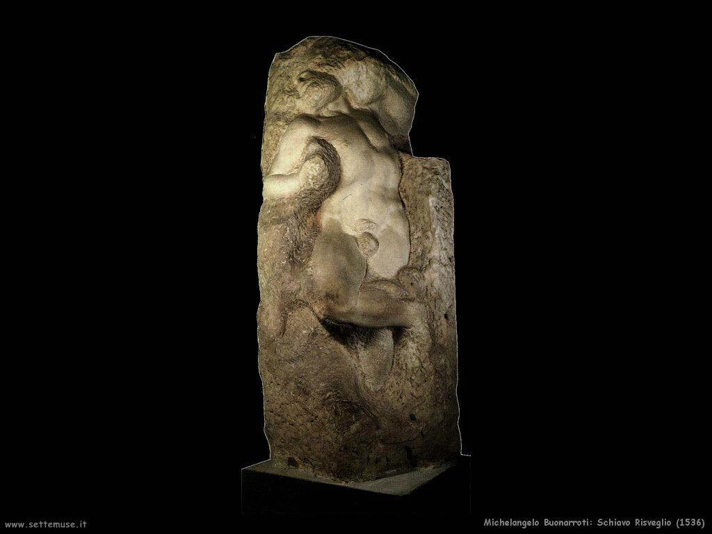 Risveglio dello schiavo Michelangelo