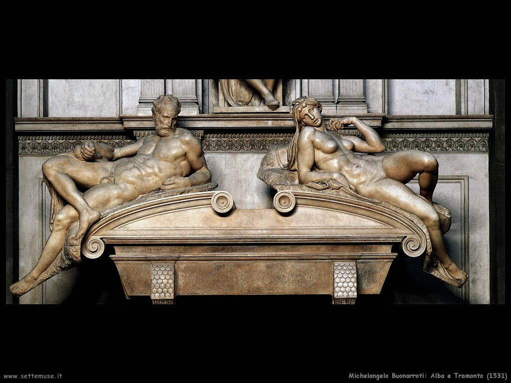 michelangelo Alba e Tramonto (1531)