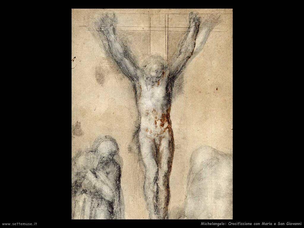 Crocifissione con Maria e San Giovanni