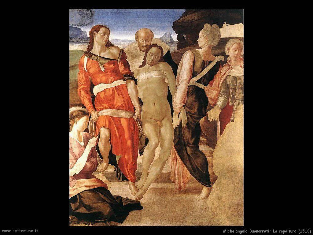 La sepoltura (1510)
