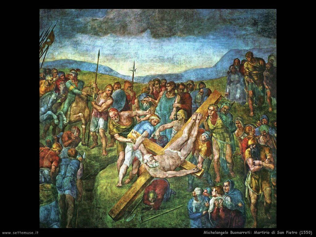 Martirio di San Pietro (1550)