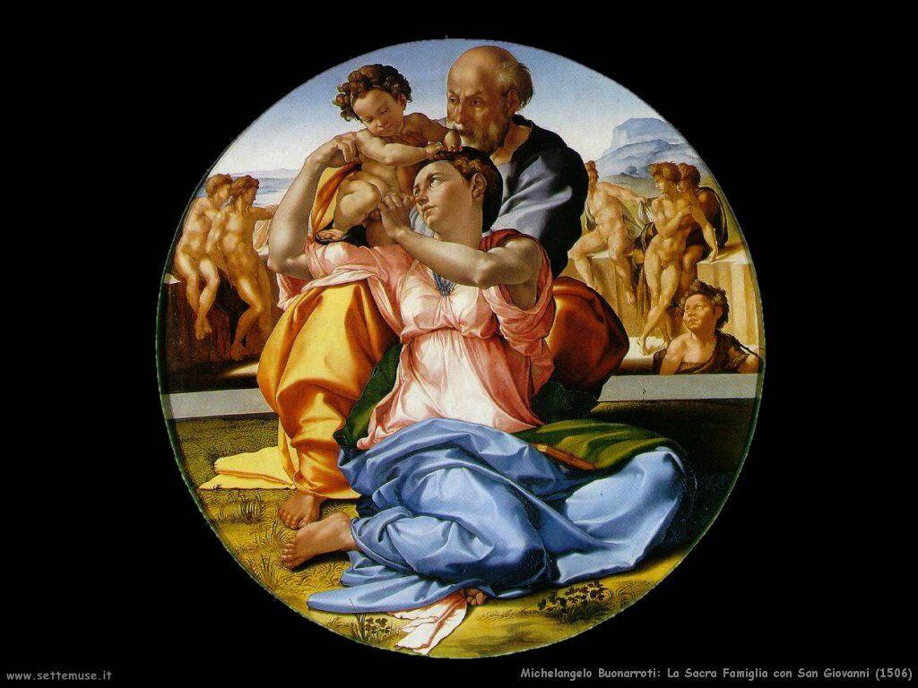 Sacra Famiglia con San Giovanni (1506)