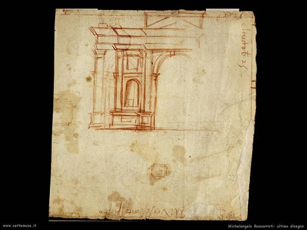 L'ultimo disegno di Michelangelo
