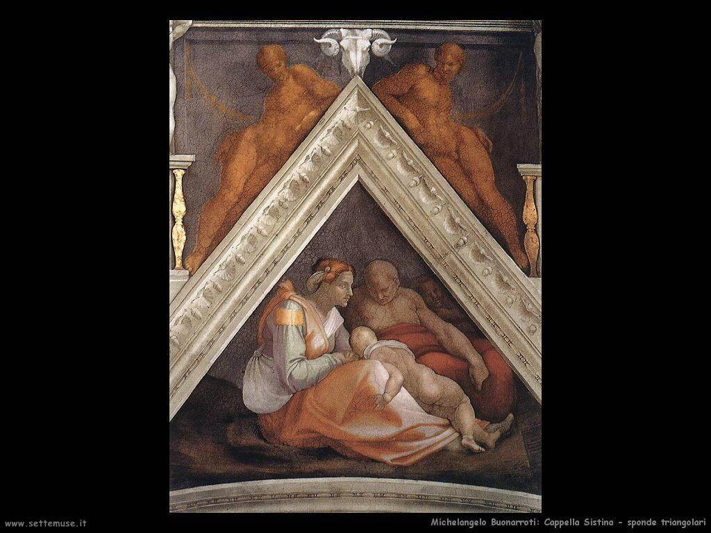 michelangelo antenati di cristo