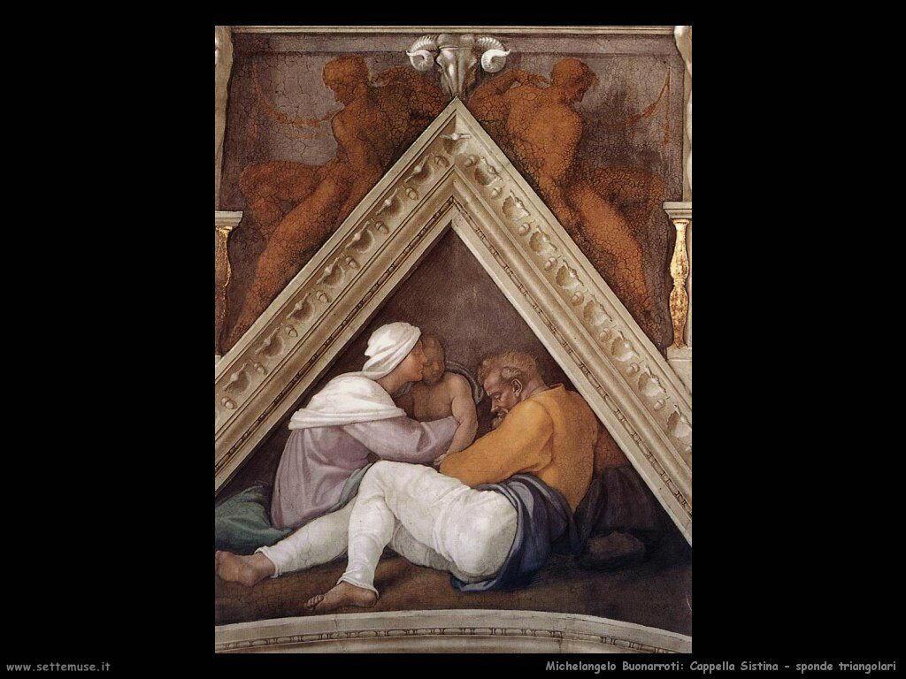 michelangelo antenati di cristo 602