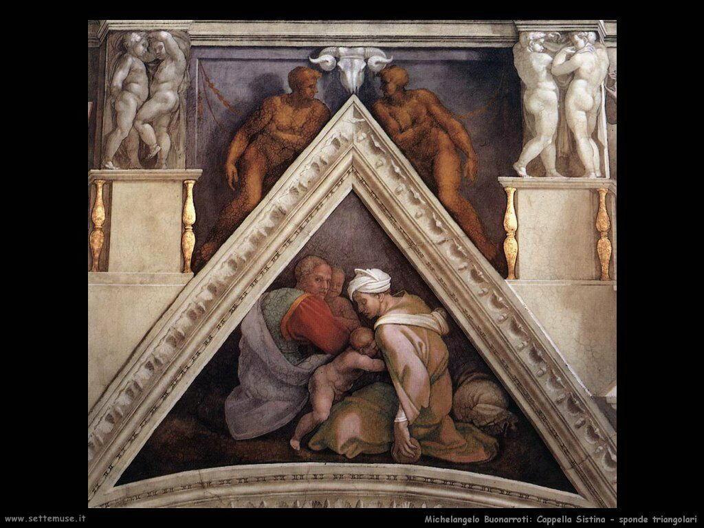 michelangelo antenati di cristo 603