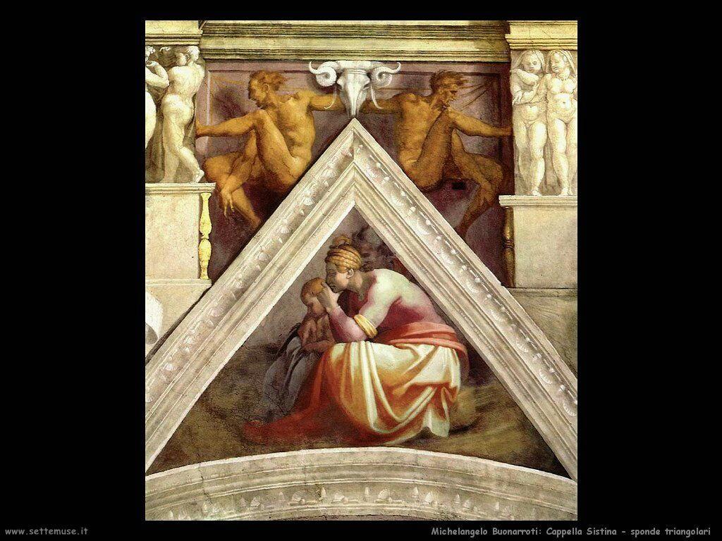 michelangelo antenati di cristo 605