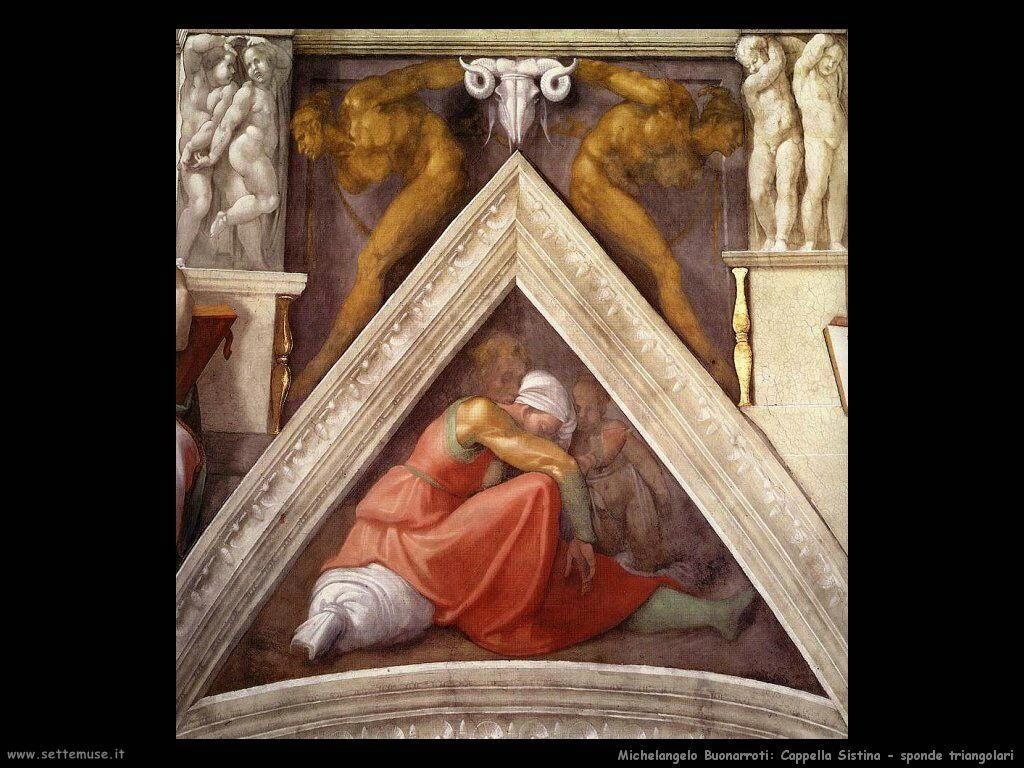 michelangelo antenati di cristo 606