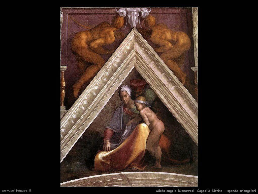 michelangelo antenati di cristo 607