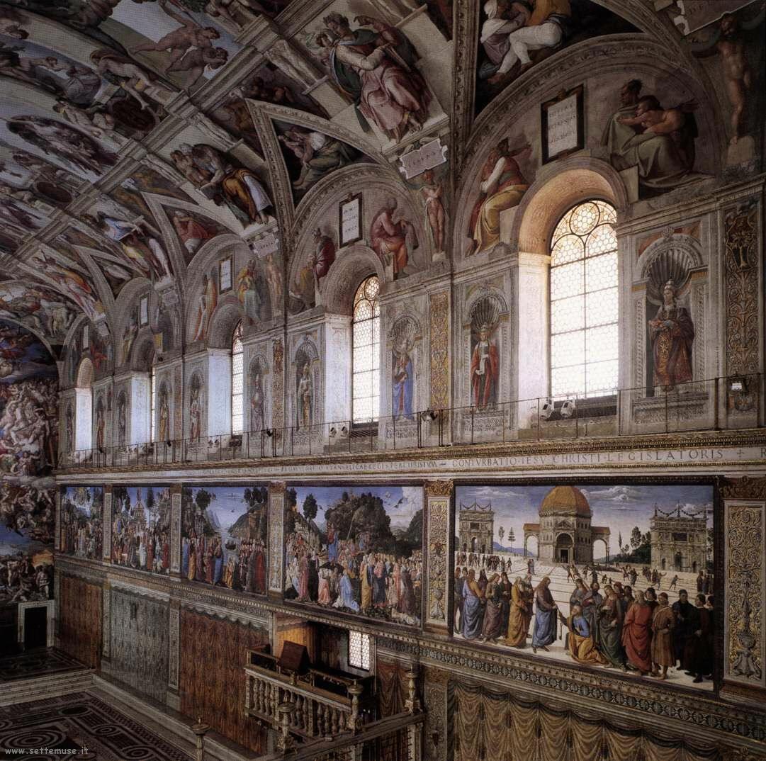 interno cappella sistina