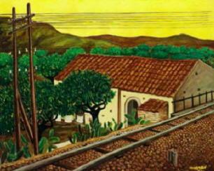 Dipinto di Giuseppe Migneco