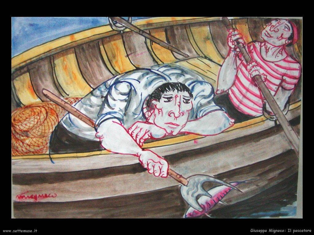 Giuseppe Migneco Il pescatore