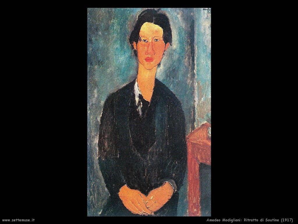 Ritratto di Soutine (1917)