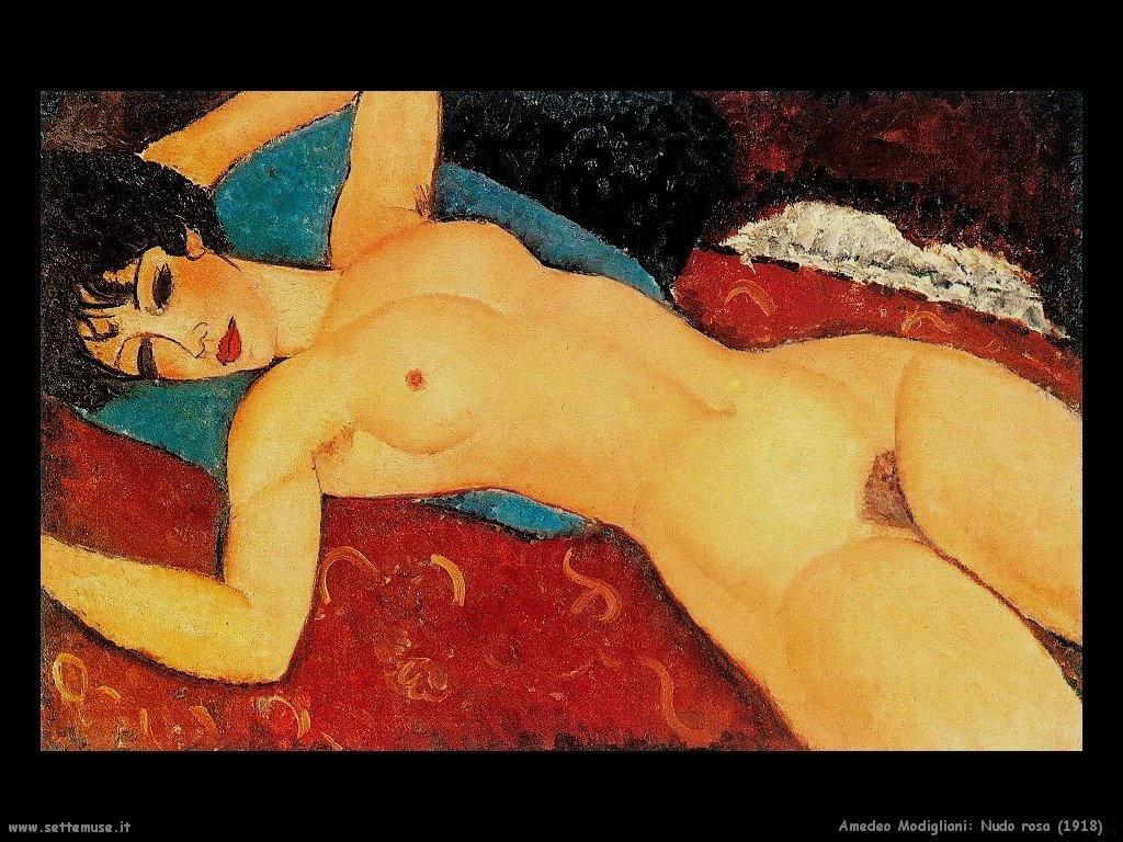 Nudo rosa (1918)