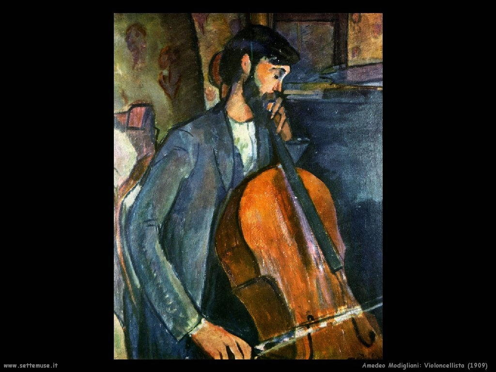 Violoncellista (1909)