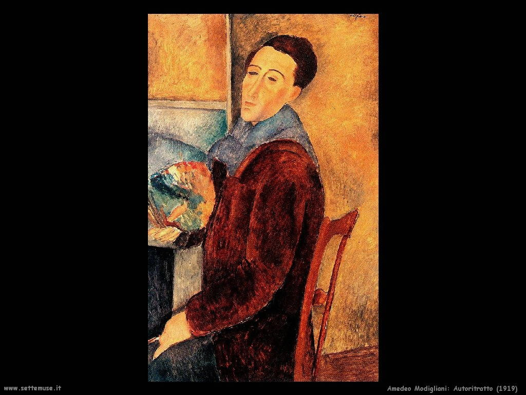 Amedeo Modigliani Autoritratto (1919)