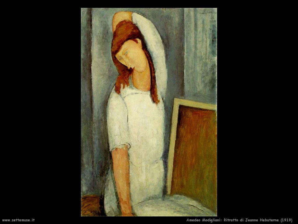 Amedeo Modigliani Ritratto di Jeanne Hebuterne (1919)