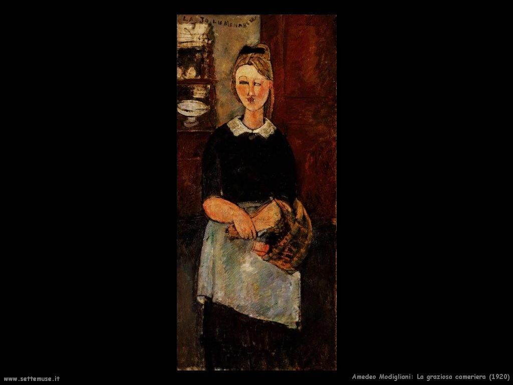 La graziosa cameriera (1920)