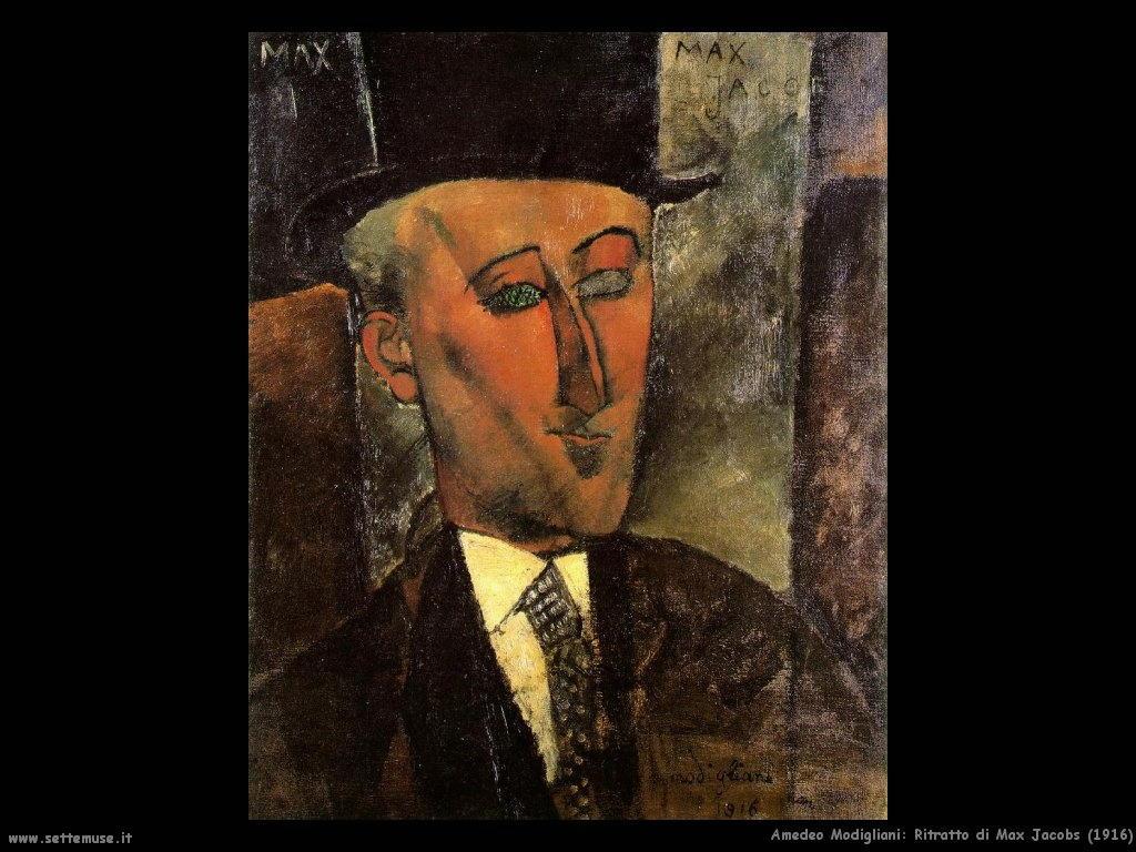 Ritratto di Max Jacobs (1916)