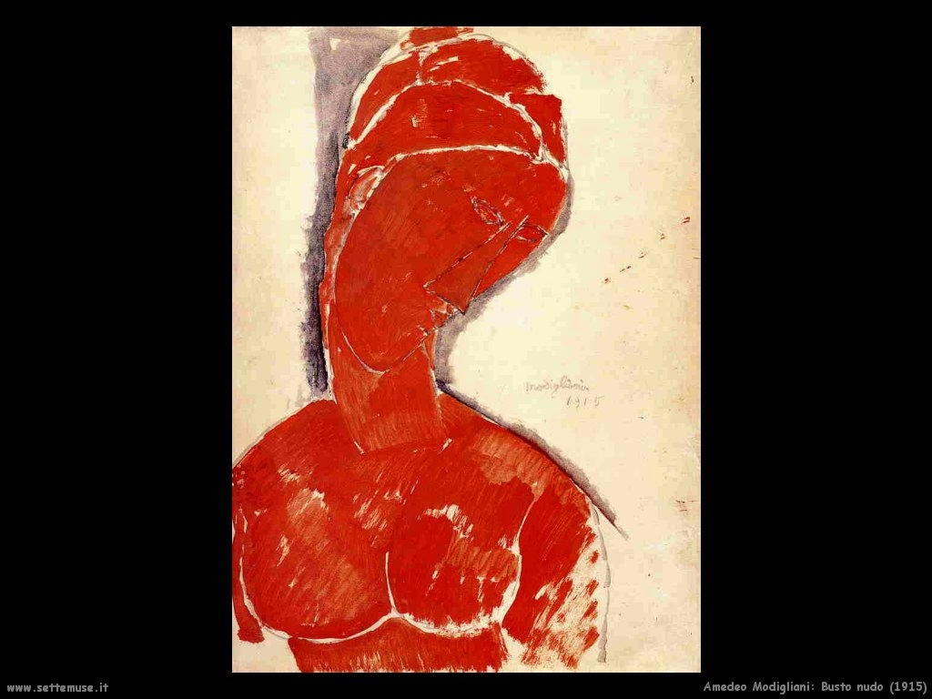 Busto nudo (1915)