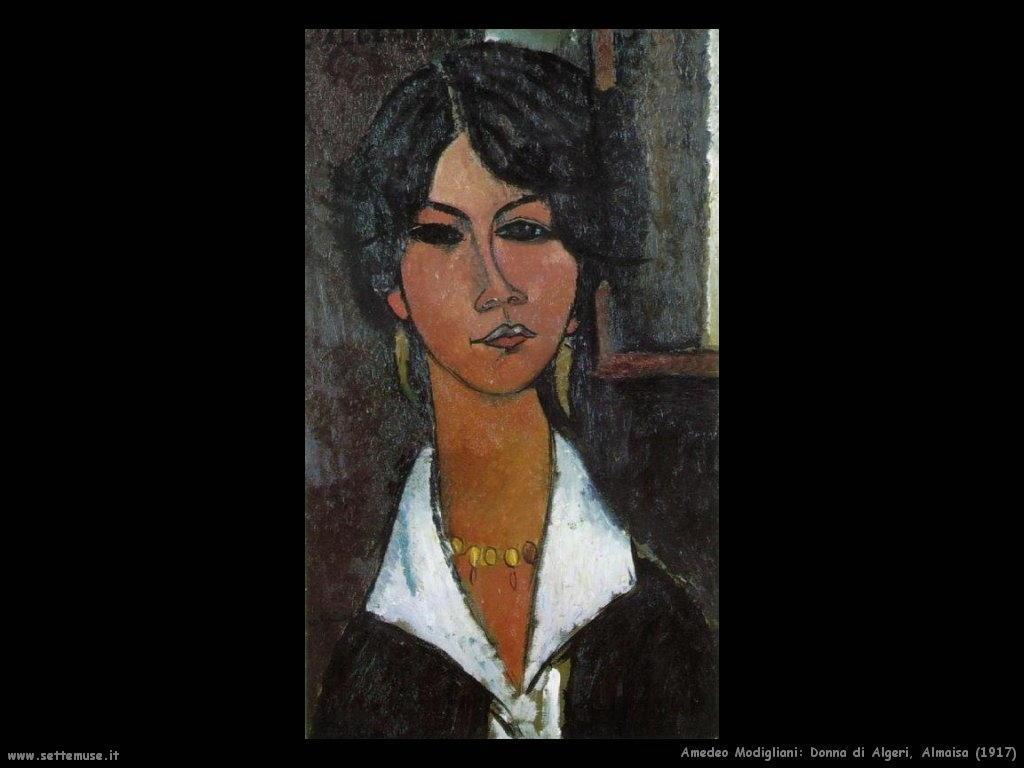 Donna di Algeri - Almaisa (1917)