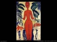 Nudo in piedi con giardino (1913)